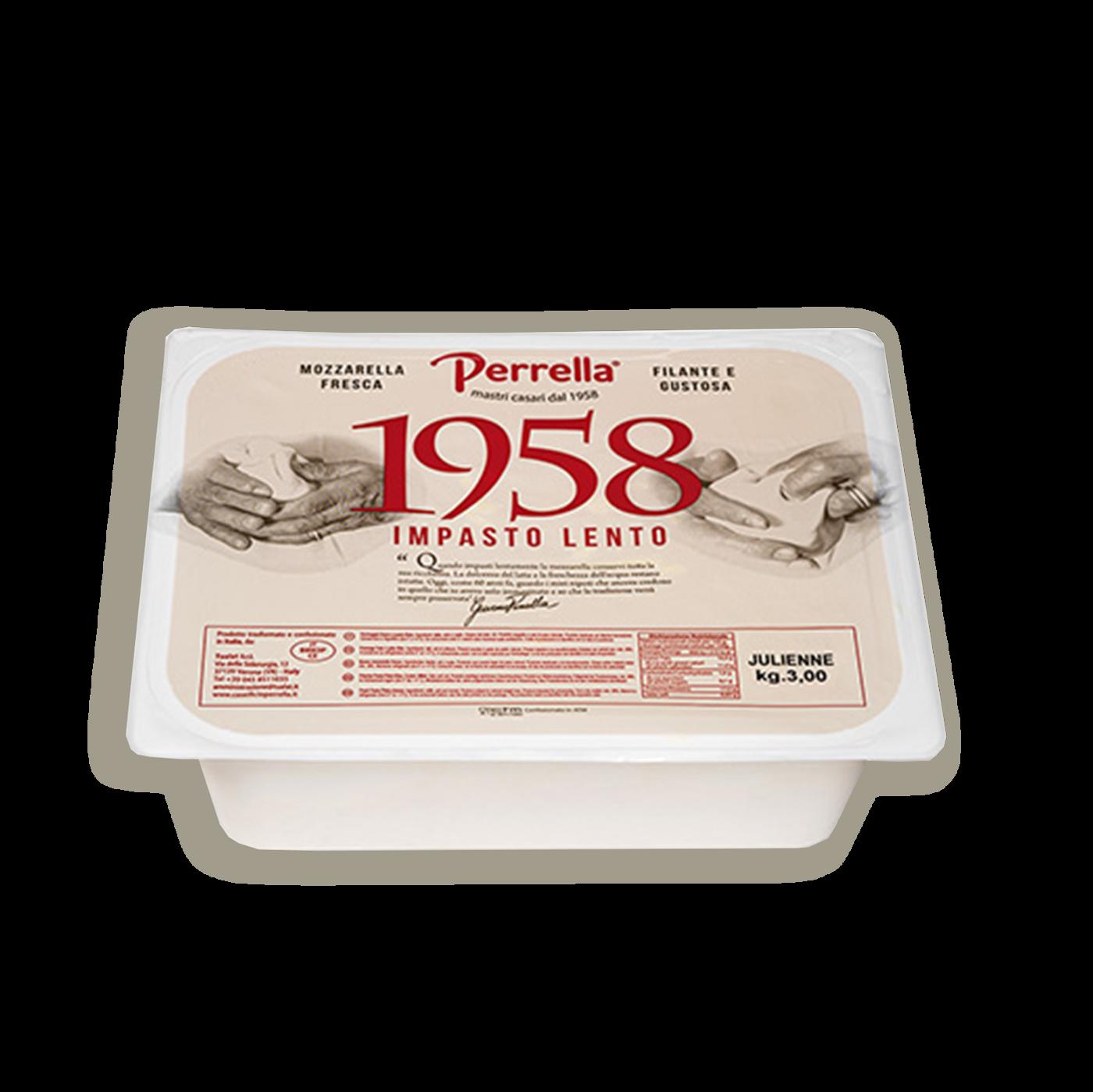 """Mozzarella fior di late """"perrella 1958"""""""