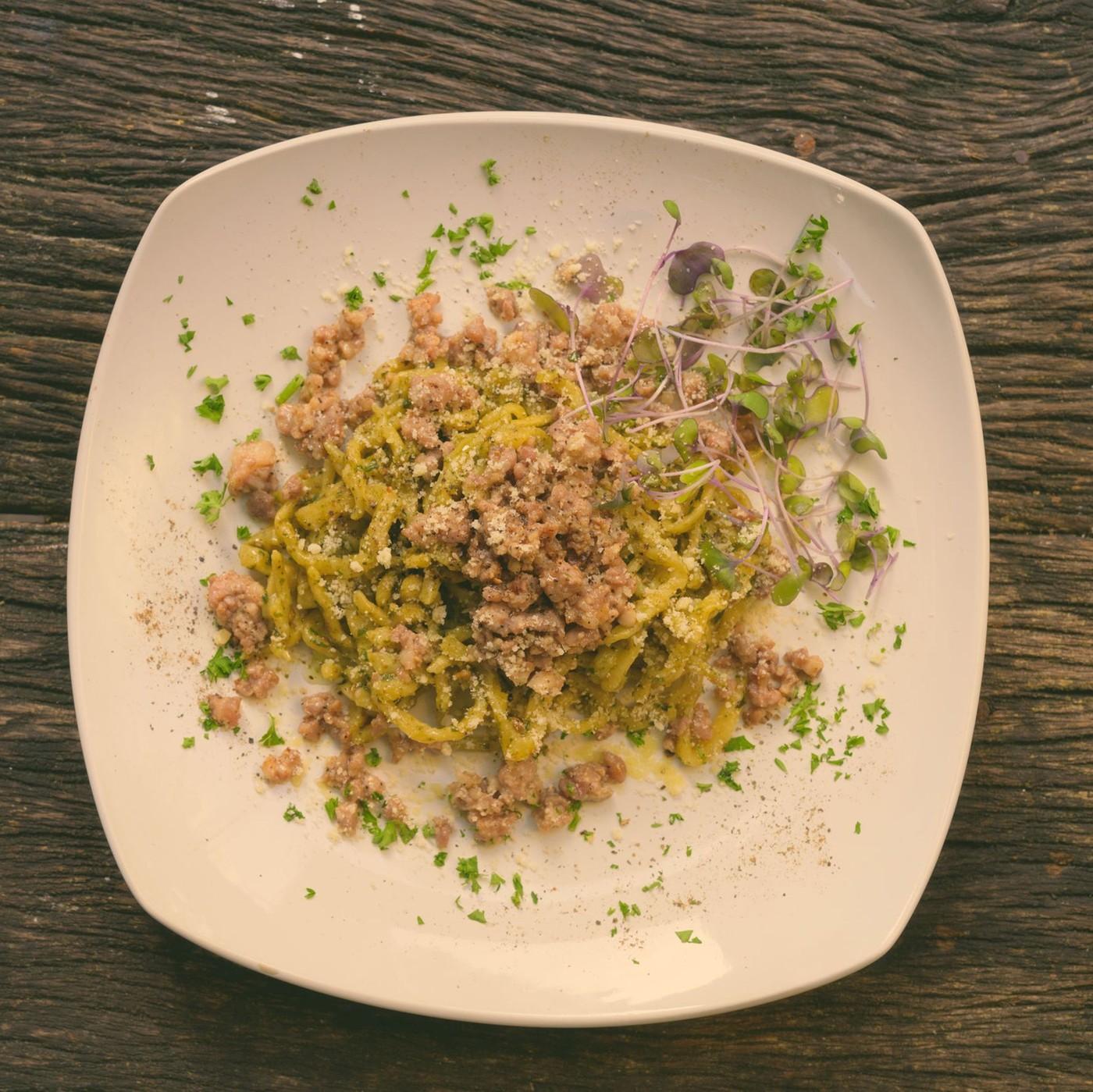 receta de Tagliolini Verdi