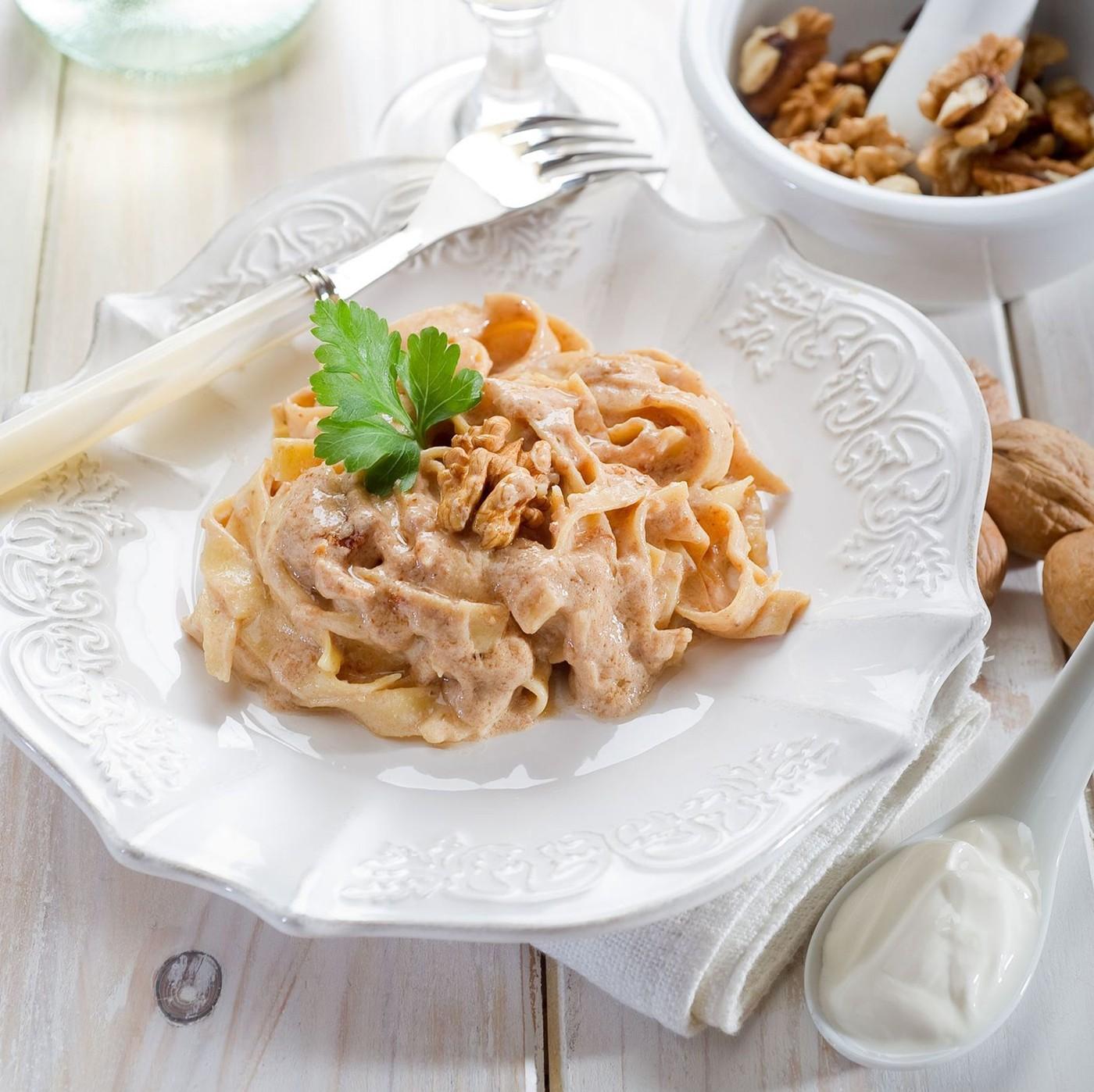 receta de Pappardelle bianche