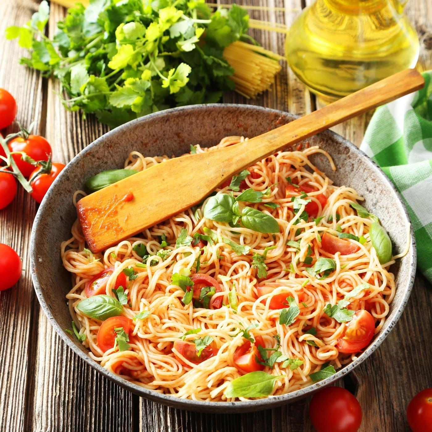receta de Spaghetti BIO