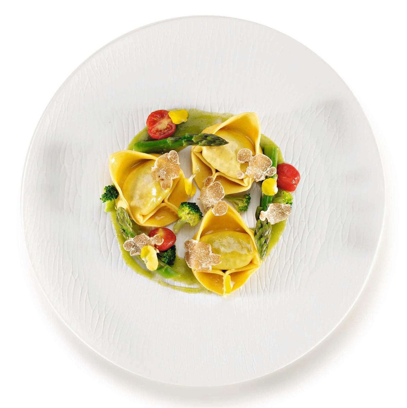 receta de Giganti con ricotta y verduras