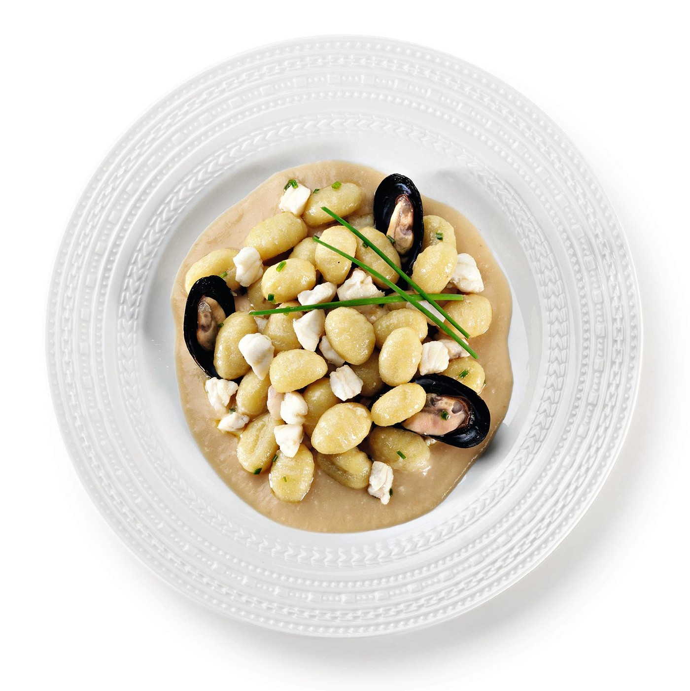 receta de Gnocchi de patata azzurra (70% patata)