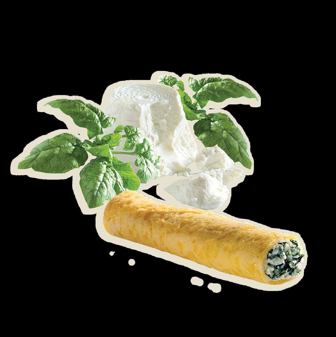 Crepes De Ricotta Y Verduras