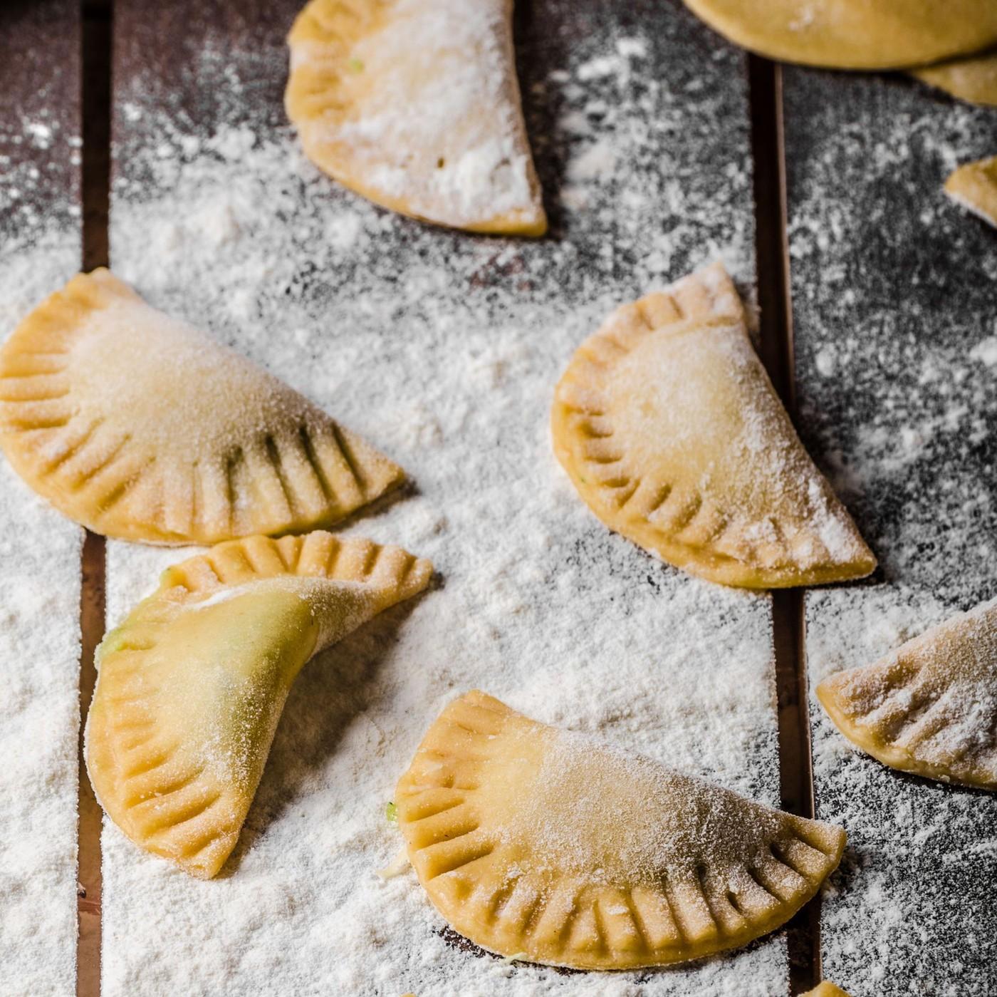 receta de Panzerotti De Ricotta Y Espinacas