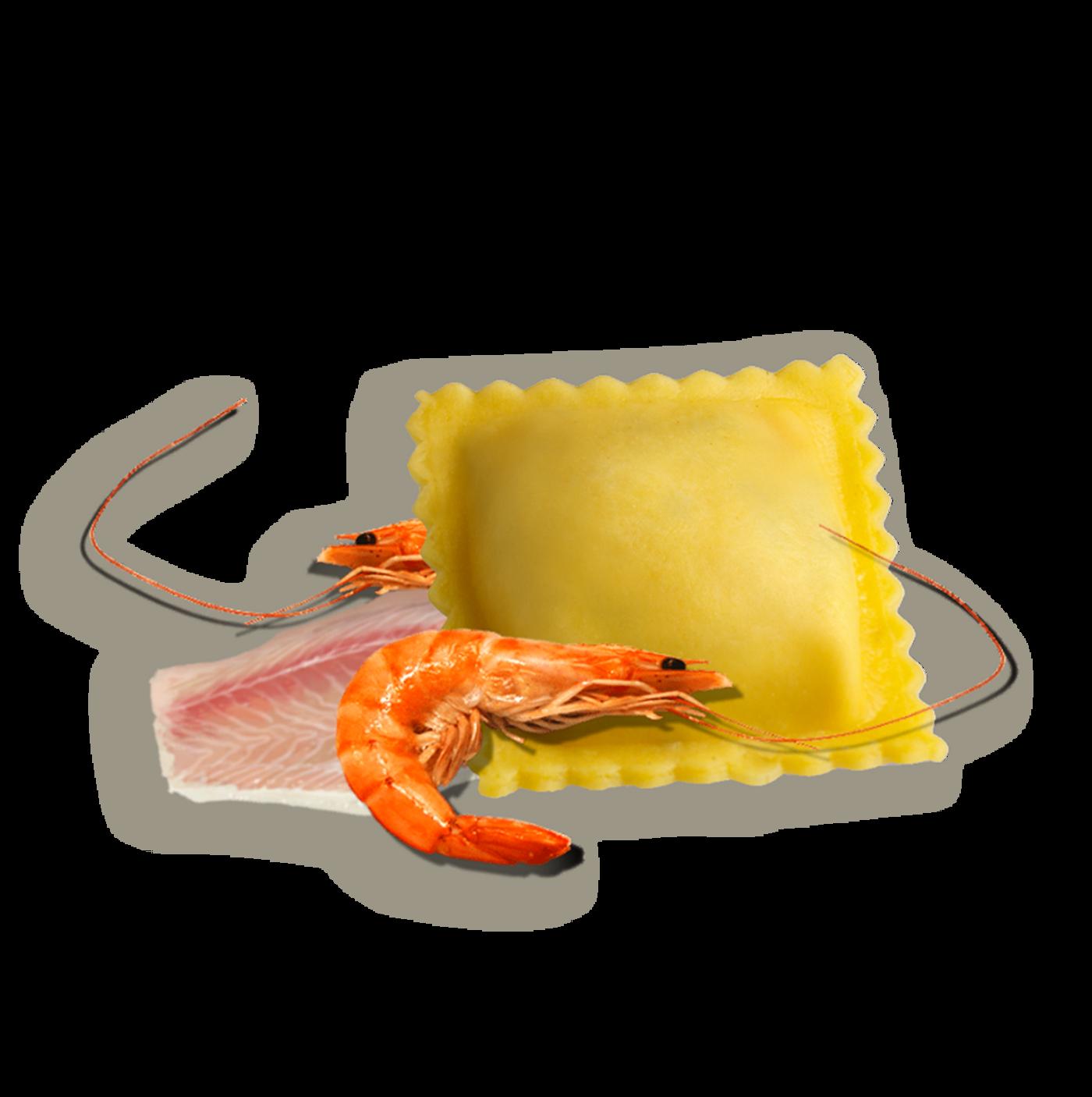 Tortelli Con Crustáceos