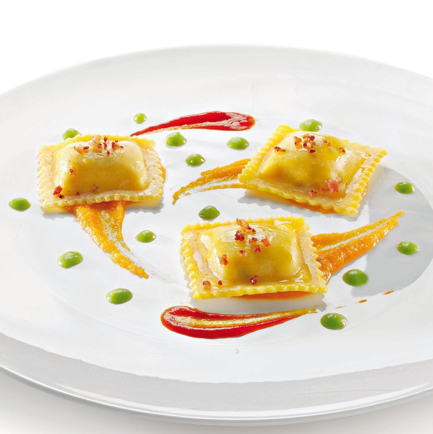 receta de Tortelli Con Crustáceos