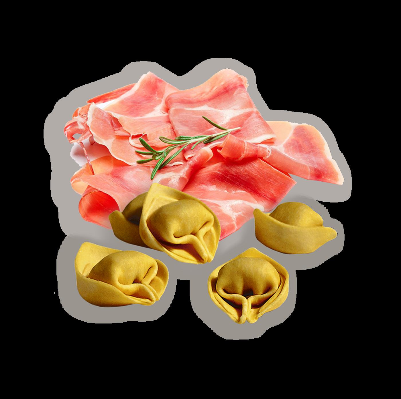 Cappelletti de jamón serrano