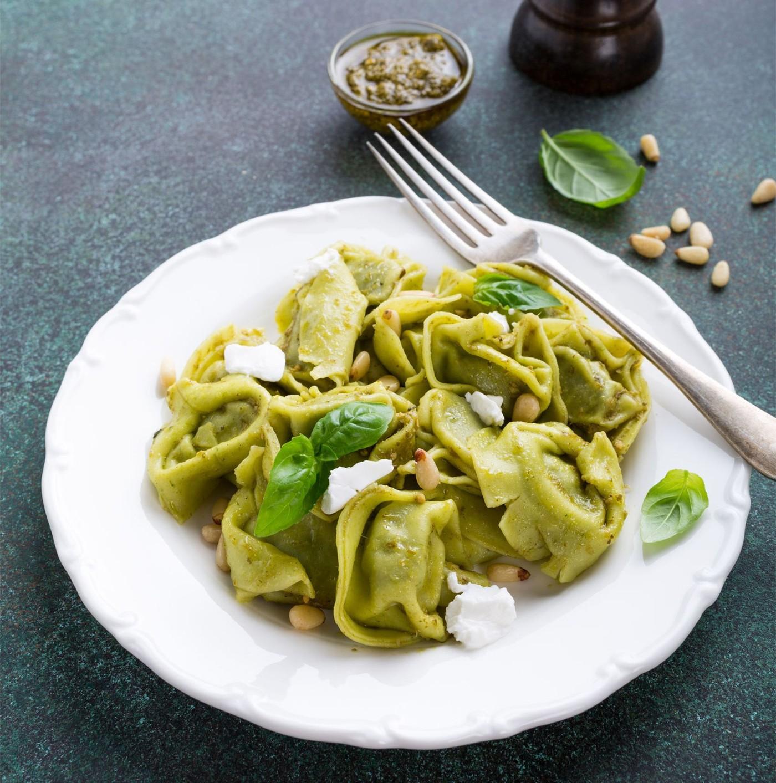 receta de Grantortellone Verde De Ricotta Y Espinacas
