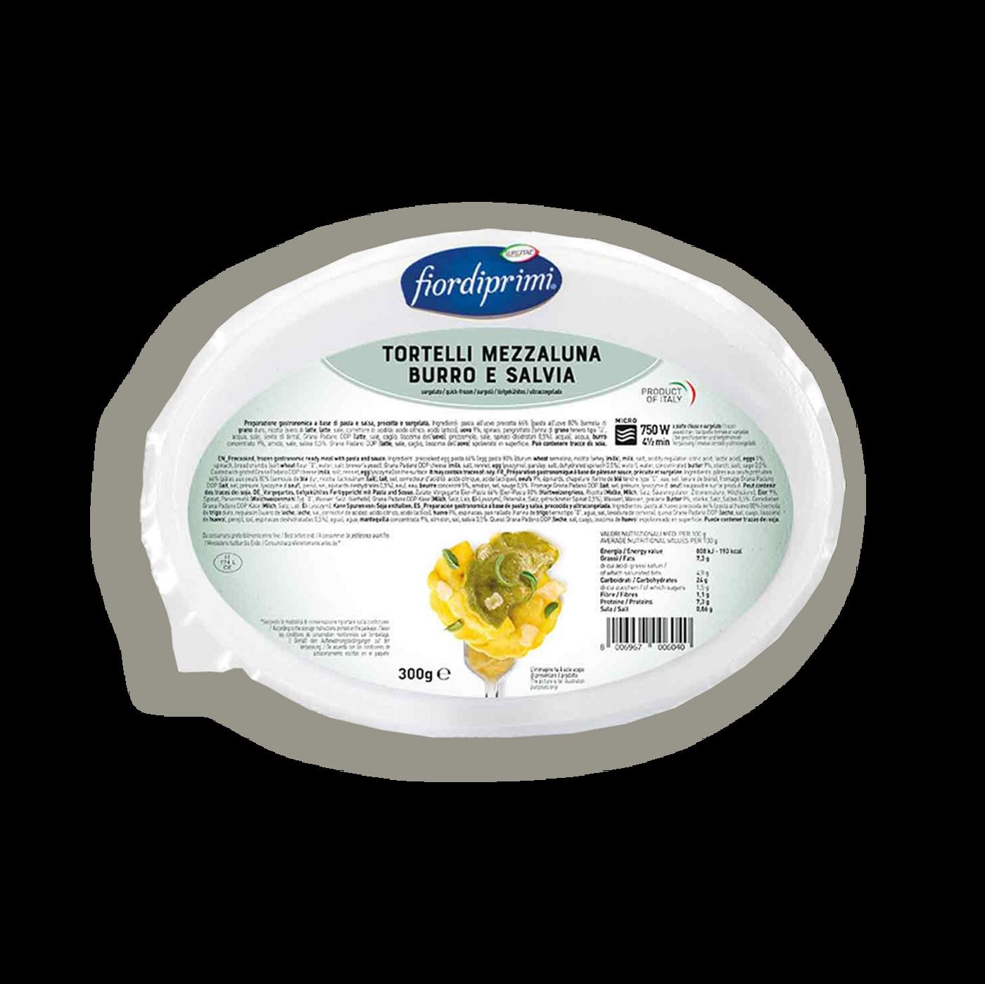 Tortelli Mezzaluna Burro E Salvia
