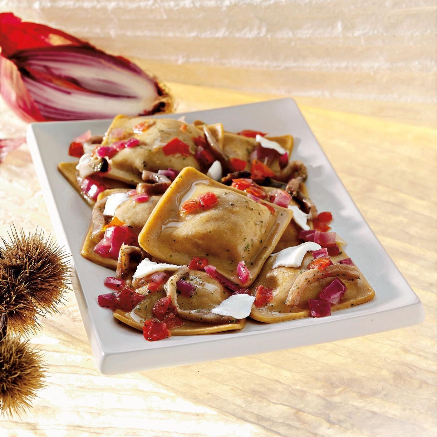 receta de Raviolacci Con Castaña