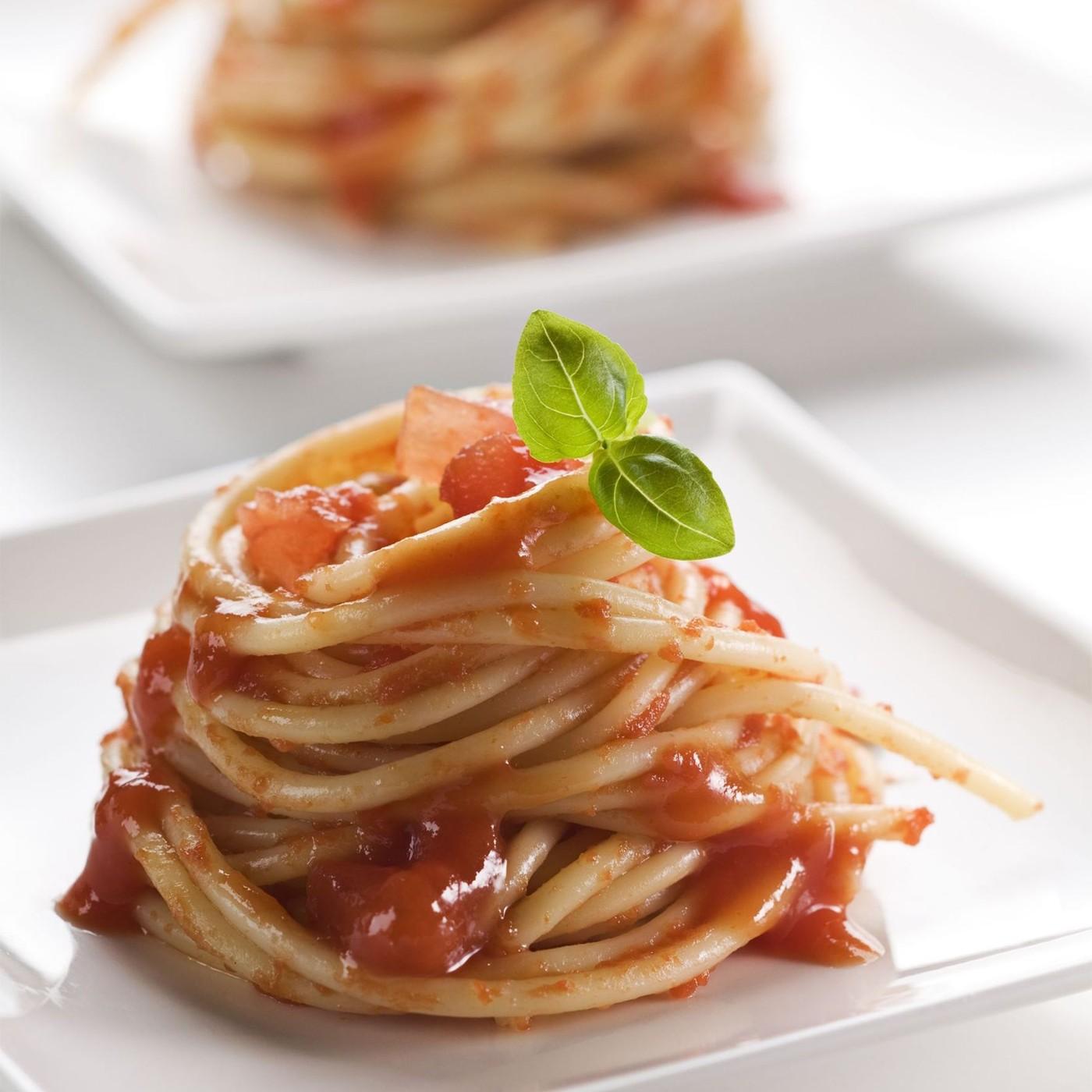 receta de Spaghetti Clásico Con Salsa De Tomate