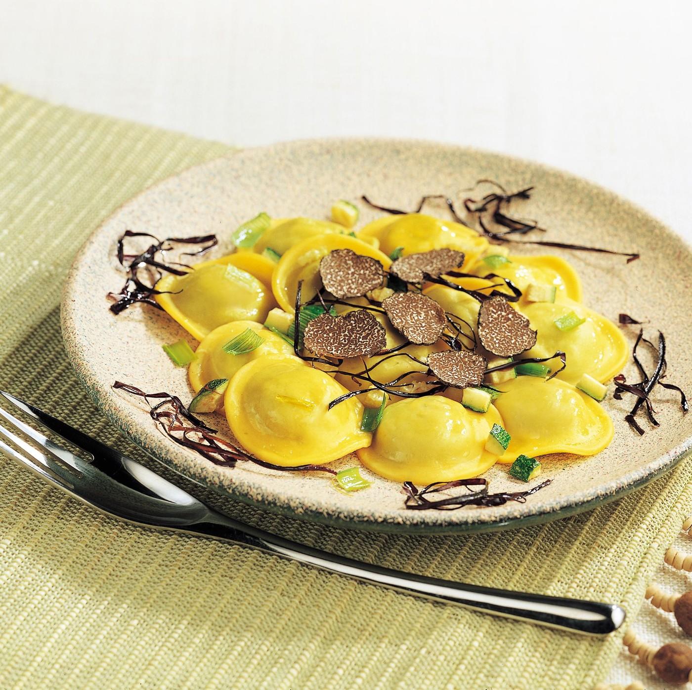 receta de Lunette Con Micuit De Foie