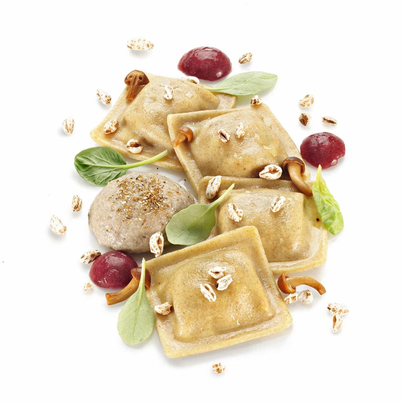 receta de Raviolacci A La Espelta Con Queso Y Nueces