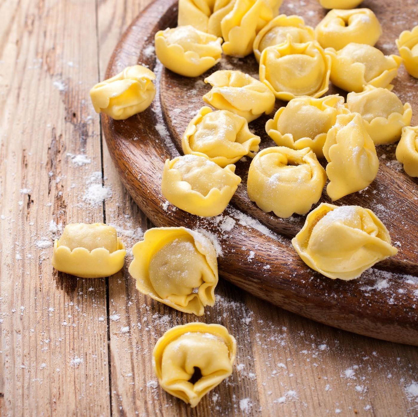 receta de Tortelloni Con Ricotta Y Espinacas Precocido