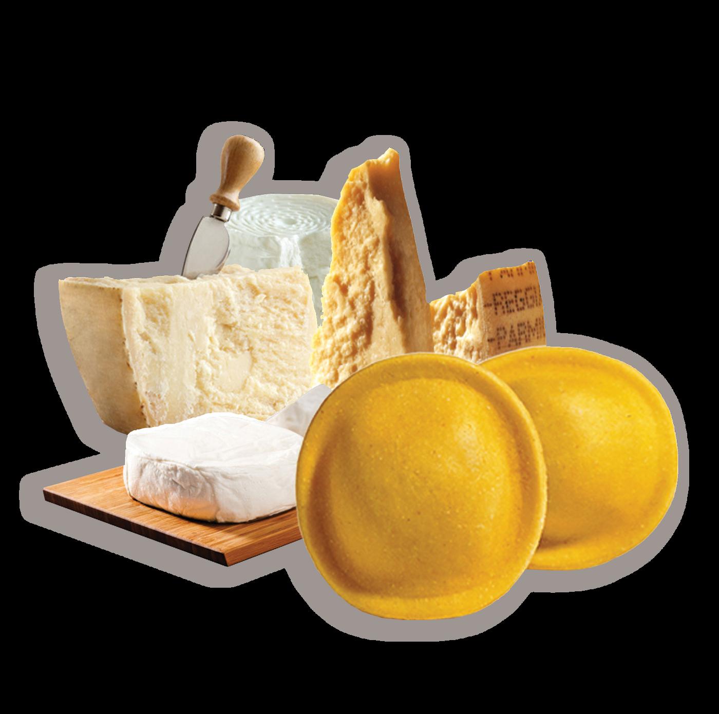 Lunette a los 4 quesos precocido