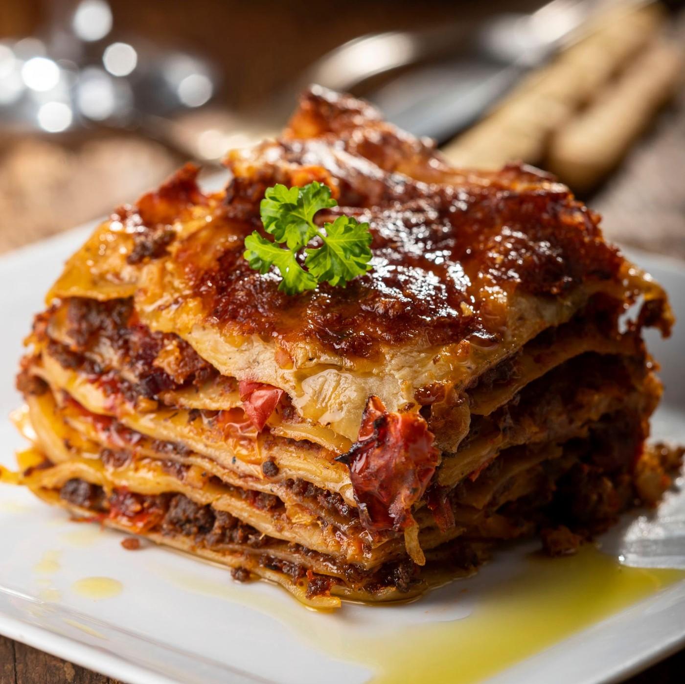 receta de Lasaña Casera Con Carne