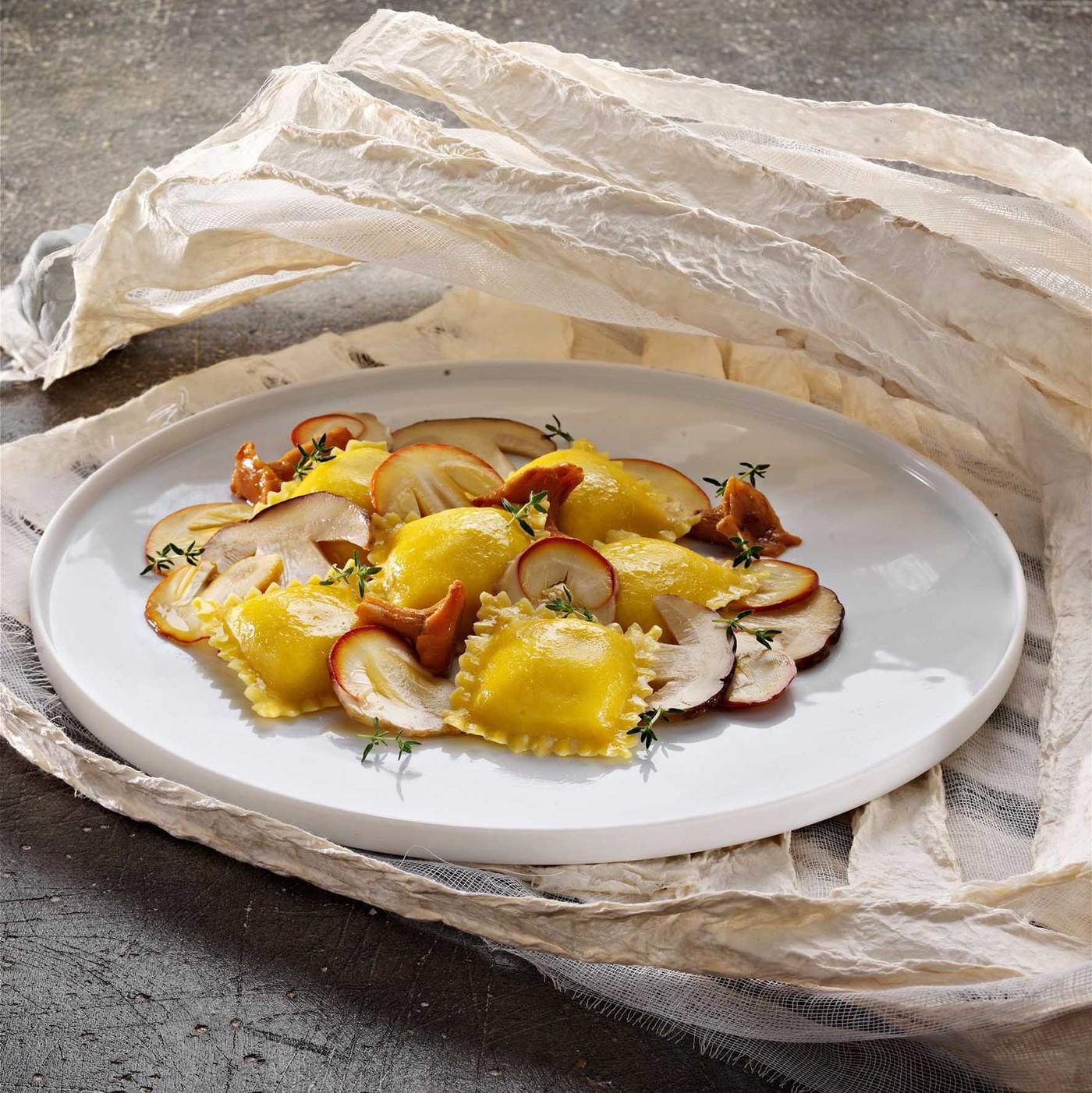 receta de Scrigni Queso Pecorino Y Pimienta
