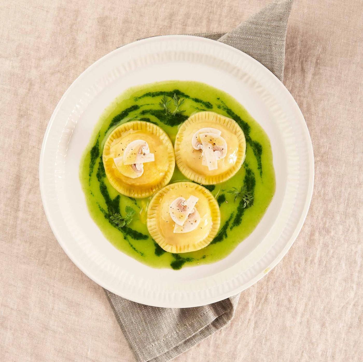 receta de Girasoli Con Mascarpone Y Nueces