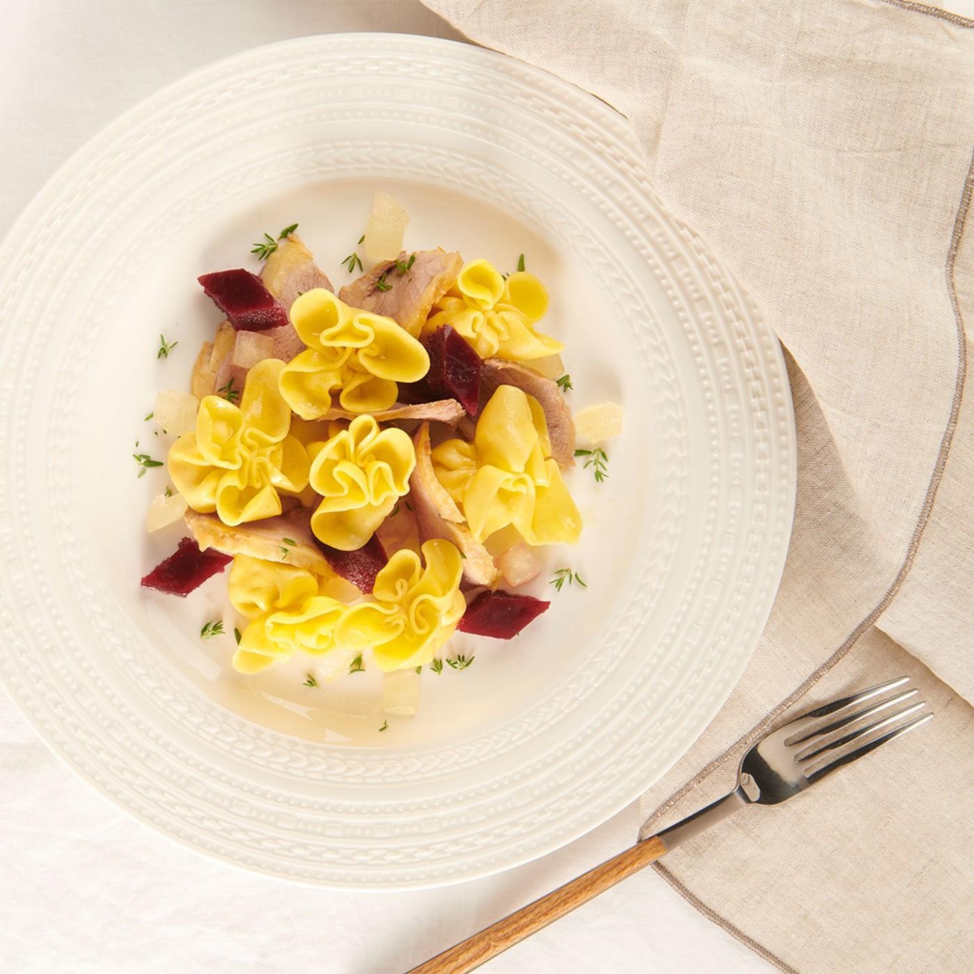 receta de Fiocchi De Manzana Y Canela