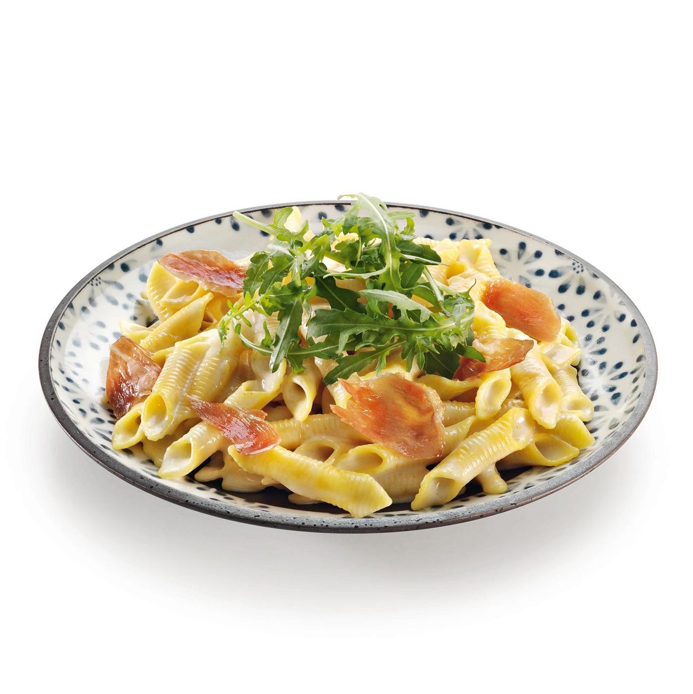 receta de Garganelli Al Salmone