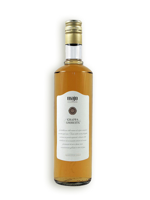"Grappa Ambrata Barrique ""Majo"""