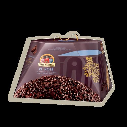 Panettone de chocolate re noir