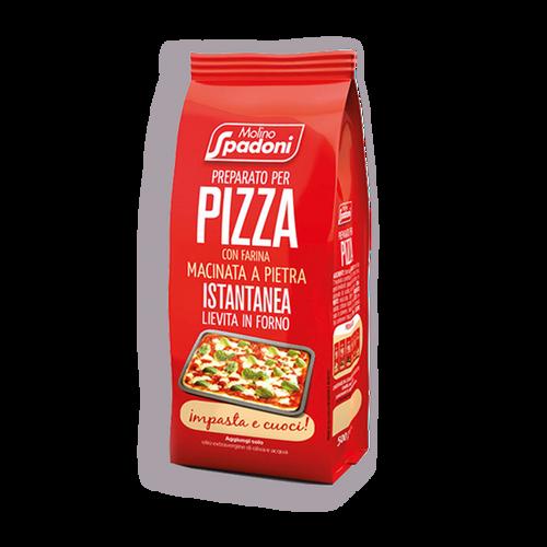 Preparado Para Pizza Con Harina Molida A La Piedra