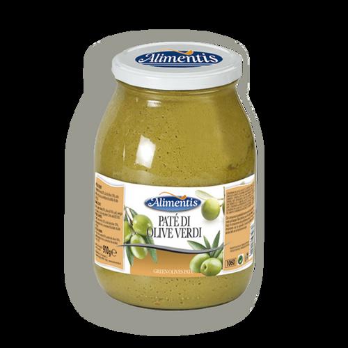 Paté de aceitunas verdes