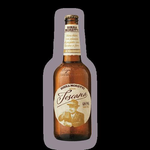 Cerveza Moretti Toscana