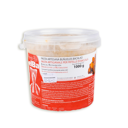 Pasta Artesana Para Buñuelos De Bacalao