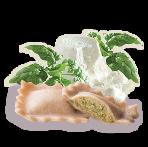 Raviolis De Ricotta Y Espinacas Sin Gluten