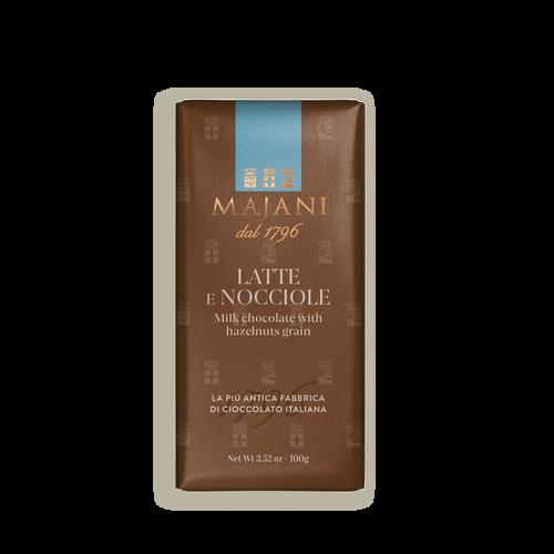 Tavoletta de chocolate con leche y avellanas