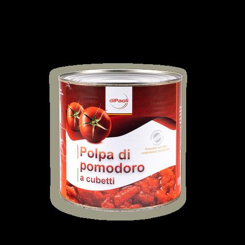 """Polpa Di Pomodoro A Cubetti In Latta """"Di Paoli"""""""