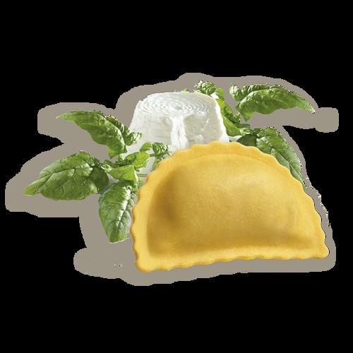 Panzerotti de ricotta y espinacas