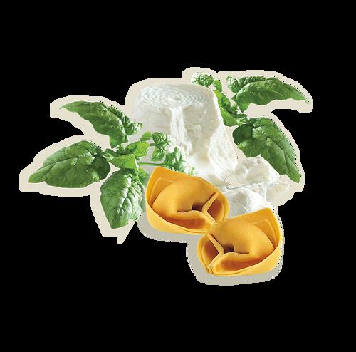 Tortelloni Con Ricotta Y Espinacas