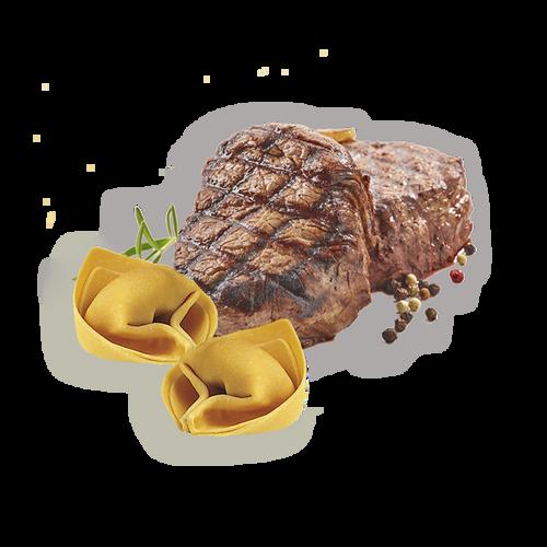Tortelloni Con Carne Precocida