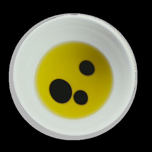 Aceite, vinagre y especias